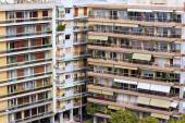 Modern apartment buildings in Greece. Building Apartments — Stock Photo