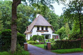 Unique beautiful house in Doorwerth Netherlands.  — Stock Photo