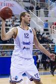 Paok Thessaloniki gegen Khimki Eurocup Spiel — Stockfoto