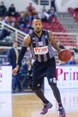 PAOK THESSALONIKI vs KHIMKI EUROCUP GAME — Stock Photo