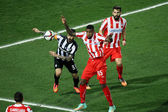 PAOK VS OLYMPIACOS GREEK SUPERLEAGUE — Foto Stock