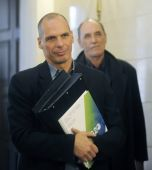 Finance Minister Yanis Varoufakis — Stock Photo