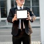 Portrait of businessman — Stock Photo #57068055