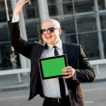 Portrait of businessman — Stock Photo #57068615