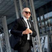 Portrait of businessman — Stock Photo