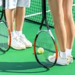 Постер, плакат: Tennis rackets