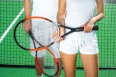 Tennis rackets — Stock Photo