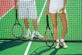 Raquetas de tenis — Foto de Stock