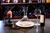 Wine decanter — Stock Photo