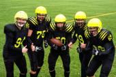 Squadra di football americano — Foto Stock