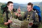 Scout tour — Stock fotografie