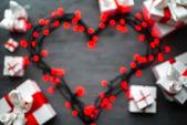 Walentynki-dzień powitanie karta koncepcja — Zdjęcie stockowe