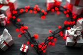 De dag van Valentijnskaarten wenskaart concept — Stockfoto