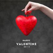 Valentine heart box — Stock Photo