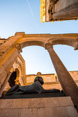 Sphinx near the cathedral in Split city — Stock Photo