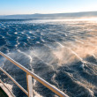 Stormy sea with strong wind — Stock Photo #66051993