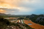 Balkan mountains view — Stock Photo
