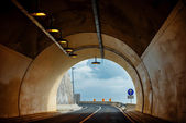 Car tunnel — Stock Photo
