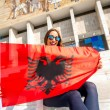 Young Albanian patriot — Stock Photo #71273771