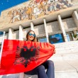 Young Albanian patriot — Stock Photo #71274115