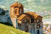 St. Theodores church in Berat — Stock Photo