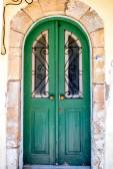 Old coloful door — Stock Photo