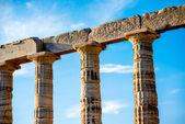 Poseidon temple in Greece — Stock Photo