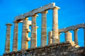 Poseidon temple in Greece — Stock Photo