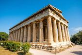 Hephaistos-Tempel in Agora nahe Acropolis — Stockfoto