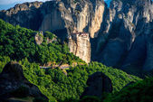 Meteora Monasteries in Greece — Stok fotoğraf