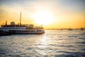 Bosphorus strait in Istanbul — Stock Photo