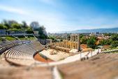 Plovdiv Roman theatre — Stock Photo
