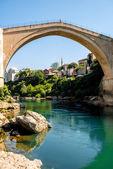 Vista da cidade de Mostar — Fotografia Stock