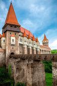 Corvin castle in Romania — Stock Photo