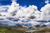 Haizi Shan mountain — Stock Photo