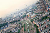 Polluted Industrial City — Stock Photo