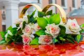 Wedding decorations — Stock Photo