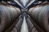 Автомобильная шина — Стоковое фото