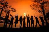 Fotografer grupp — Stockfoto