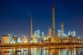 Oirefinery petrochemical — Stock Photo