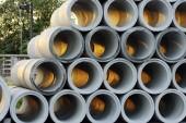 Concrete pipe — Stock Photo