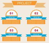 Banner di spirale moderna infografica opzioni. illustrazione vettoriale. può essere utilizzato per il layout di flusso di lavoro, diagramma, numeri opzioni, web design. — Vettoriale Stock
