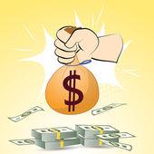 Dollars money — Stock Vector