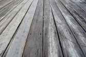 Old wooden plank in varying widths — Stock Photo