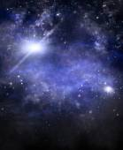 Deep outer space, background — Stock Photo