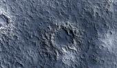 Moon surface texture — Stock Photo