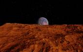 Mars Scientific illustration — Stock Photo