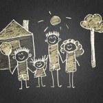 Happy family — Stock Photo #70065361