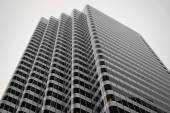 Office building in grayscale, San Francisco — Foto Stock