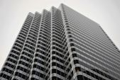 Office building in grayscale, San Francisco — Stock Photo